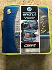 The Mighty Zip Tab 2.0 D-159-p 3 3 Ring Binder Black Red Blue Green Yellow Fs
