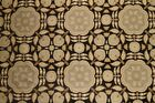Discount Fabric TAPESTRY Black  Taupe Floral Upholstery Fabric