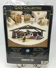Gold Collection Nativity Scene Tree Skirt Kit Dimensions Counted Cross Stitch