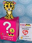 TY Beanie Mini Boos SPECKLES the LEOPARD Series 3 Collectible Handpainted Figure