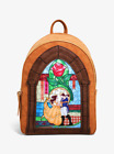 Danielle Nicole Disney Beauty and the Beast Stained Glass Arch Mini Backpack