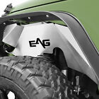 EAG 07 18 Jeep Wrangler JK Front and Rear Inner Fender Liners Silver Aluminum