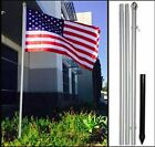 HandinHandCreations USA Flag with 10ft Flag Pole American Flag 3x5 Pole