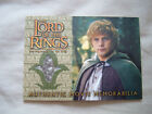 2002 Topps Lord of the Rings: The Fellowship of the Ring Collector's Update Trading Cards 17
