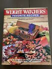 Vintage 1986 Weight Watchers Favorite Recipes Cookbook Cook Book Cooking