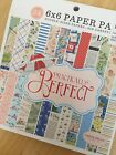 Carta Bella Paper PRACTICALLY PERFECT Mary Poppins 6x6 24 Double Sided Papers