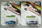 JOHNNY LIGHTNING fast and the furious Nissan 350z skyline SET Paul walker movie
