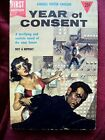 1954 Year of Consent Sci Fi by Kendell Foster Crossen A Dell first edition GD