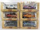 M2 Machines Gassers Drag Cars Complete Set of 6 Cars 32600 51 164 Scale