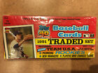 1991 TOPPS TRADED Baseball Complete Factory Sealed Set