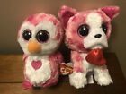 """TY Beanie Boos 6"""" Romeo And 6"""" Juliet With Hang Tags"""