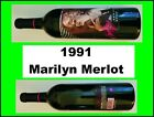 1991 MARILYN MONROE MERLOT Red Wine SEALED Collectible Celebrity MINT