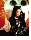 Julie Newmar Hand Signed Catwoman Batman TV Show In Person Rare