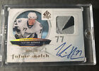2009-10 UD VICTOR HEDMAN SP AUTHENTIC FUTURE WATCH AUTO PATCH ROOKIE 100 (3CL)