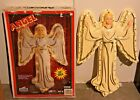Vintage Empire 33 Christmas Nativity Lighted Angel Plastic Blow Mold