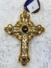 Radko Golden Rood 1016333 NWT Cross 2013 Retired Ornament Religious