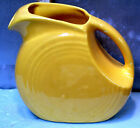 OLD GENUINE HLCo FIESTA SUNFLOWER YELLOW SMALL PITCHER 6