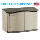 Rubbermaid Horizontal Storage Shed Small Deck Strong Box 34 x 55 x 28 in NEW