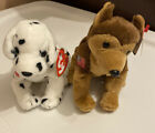 2001 Ty Beanie Babies Lot of 2 with Tags - Rescue, Courage