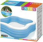 Intex Swim Center Family Inflatable Pool 90in x 90in x 22in NEW SHIPS TODAY