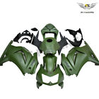 FWA Injection Fairing Fit for Kawasaki EX250 250R 2008-2012 ABS Army Green z074