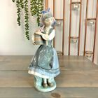 Vintage Lladro Retired Daisa Figurine #1416 Spain From My Garden Budding Blossom