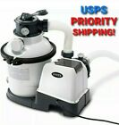 NEW Intex 1200 GPH Above Ground Pool Sand Filter Pump Automatic Timer FAST SHIP