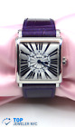 Franck Muller Master Square Stainless Steel Watch w/BOX & Papers!