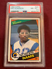 Eric Dickerson 1984 Topps Rookie Card RC PSA 8.5 NM-Mt+ Rams Colts