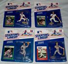 4 STARTING LINE UP figures JOSE CANSECO, Greg JEFFERIES, Mike GREENWELL ~1988-89