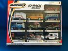 VINTAGE 2000 MATCHBOX 10 PACK City Crew 56 FORD PKP USPS VW TRANSPORTER 1 64
