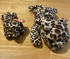 Ty Beanie Baby, Freckles The Leopard, 1996 DOB 6-3-96 P.V.C. And Teenie Frec