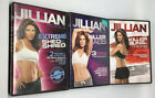 3 Jillian Michaels workout DVD lot Extreme Shred Killer buns  thighs abs shed