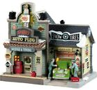 LEMAX CHRISTMAS VILLAGE SPARKS AUTO PLUG GARAGE SHOP HOUSE  BUILDING