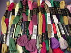 New Old Stock 50 Skeins DMC Size #25, 6 Strand Cotton Embroidery Floss