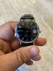 OMEGA SEAMASTER DE VILLE AUTOMATIC BLACK DIAL STAINLESS STEEL 1960's