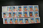 1988 Starting Lineup Talking Baseball RED SOX Team Set 21 Cards Boggs Rice
