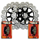 Front Brake Disc Rotor + Pads for Kawasaki ZG 1000 A Concours GTR [1994-2006]