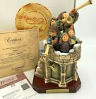 LARGE Hummel Figurine FANFARE 14TH IN THE CENTURY COLLECTION COA BOX EXCELLENT