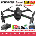 Force One SG906 Pro Foldable GPS RC Drone with 4K HD Camera 2 Axis Anti Shake