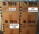 Hot Wheels Sealed Cases Choose a case L2593 USA 5785 SHORT C4982 WORLDWIDE