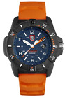 Luminox XS3603 Navy Seal Mens Orange Rubber Strap Blue Dial 45mm Case Watch