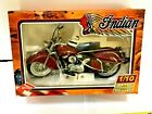 Guiloy 1948 Indian Chief Motorcycle 110 Scale Model Bike Collection