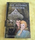 Nancy Drew 46THE INVISIBLE INTRUDER 1969A 1 Matte Yellow Spine 1st Edition BOOK