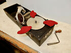 ANTIQUE COMPLETE KOMPACT PORTABLE PHONOGRAPH EXCELLENT WORKING CONDITION