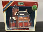 1998 Lemax Jukebox Junction Village Collection Porcelain Essex Fire House #85316