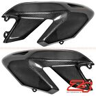 2007-2012 Hypermotard 796 1100 Upper Side Mid Cover Fairing Cowling Carbon Fiber