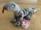 Ty Beanie Baby Scaly the Lizard DOB February 9 1999 with Tags