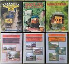 Green Frog Highball  Big E Railroad Train DVDs Gently Used Mixed Lot of 6