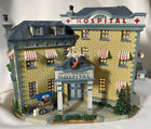 Lemax Caddington Village ~ SMITH MEMORIAL HOSPITAL Lighted Building